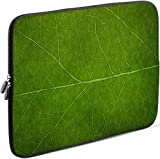 Sidorenko Laptop Tasche für 13-13.3 Zoll Macbook Pro/Macbook Air/Lenovo | Universal Notebooktasche Schutzhülle | Laptoptasche aus Neopren, PC Computer Ultrabook Hülle Sleeve Case Etui, Grün