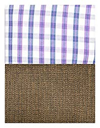 Siyarams Mens Shirt and Trousers Fabrics (Multi-Coloured and Brown )