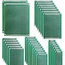 HeyNana 32 Piezas Placas de Fibra de Vidrio de Doble Cara de PCB Tarjeta Placa Prototipo