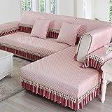 WANGS Moderne Sofa-Abdeckung Anti-Rutsch-Sofa Deckel Sofa Werfen abdeckungen Rücken und armlehne Separat Gesteppte Möbelabdeckung beschützer für Haustier Einfach für Alle searon-D 35x55inch(90x140cm)