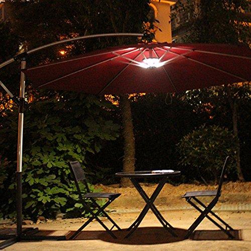 Amir Parasol LED Lights, Umbrella Pole Light, Outdoor ...