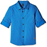 United Colors of Benetton Baby Boys' Shirt (16P5POPC0044I902_Blue_2Y)