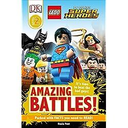 Lego DC Comics Super Heroes: Amazing Battles! (Lego Dc Comics Super Heroes: Dk Readers)