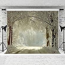 Kate 2.2x1.5m invierno fondos fotografía nieve Frozen Bosque fondo para estudio fotográfico telón de fondo
