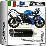 Arrow Auspuff Komplett Hom race-tech Dark Carby Suzuki GSX-R 100020151571791AKN + 71462Ich