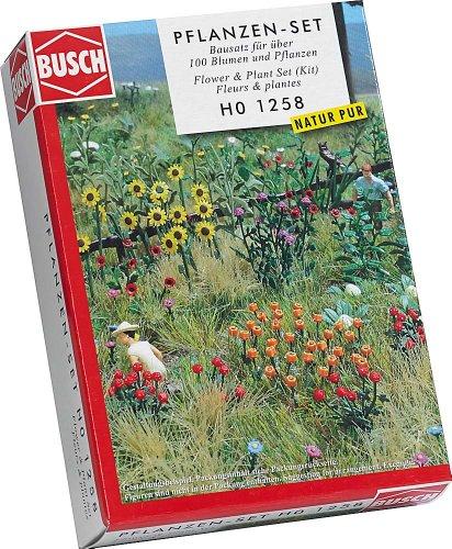 busch-1258-natur-pur-blumen-und-pflanzen-set