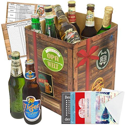 Opa Geschenkset mit Bier