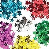 Baker Ross Stern-Pailletten für Kinder zum Basteln, Verzieren und Gestalten zu Weihnachten – Kreatives Spielzeug für Kinder in der Weihnachtszeit (pro Dose)