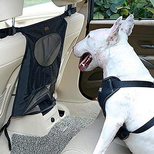 Hunde-Rücksitz-Sperren-Maschen-Hindernis-Hundeauto-Zaun-Masche, Um Ihre Haustiere Und Fahrer Zu Halten Sicherheit, Eine Größen-Passende Meisten U. Einfach, Für Auto, SUV, LKW Zu Installieren,,Black (Carrier Sperren Von)