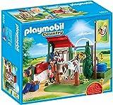 Playmobil Country 6929  Area di Cura dei Cavalli con Pompa d'Acqua Funzionante, dai 5 Anni
