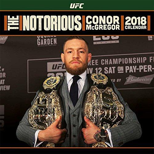 McGregor, Conor - Offizieller UFC Kalender 2018 - Größe 30x30 + 1 empire® Jahresplaner 2018 gefaltet, 91,5x61 cm