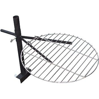 grillrost f r feuerschale pflanzschale holzfeuerschale feuerstelle 40 cm garten. Black Bedroom Furniture Sets. Home Design Ideas