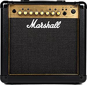 marshall mg15gfx guitar amp combo gold musical instruments. Black Bedroom Furniture Sets. Home Design Ideas