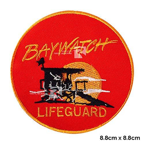 Echt Empire Baywatch Lifeguard Logo Zum Aufbügeln Gesticktes Patch