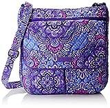 Best Vera Bradley Lilacs - Vera Bradley Women's Double Zip Mailbag, Lilac Tapestry Review
