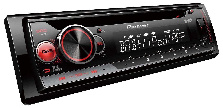 caraudio24-Pioneer-DEH-4900DAB-MP3-AUX-CD-DAB-USB-Autoradio-fr-Peugeot-207-307-Expert-Partner