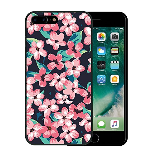 iPhone 7 Plus Hülle, WoowCase Handyhülle Silikon für [ iPhone 7 Plus ] Keep Calm and Be a Princess Handytasche Handy Cover Case Schutzhülle Flexible TPU - Transparent Housse Gel iPhone 7 Plus Schwarze D0097