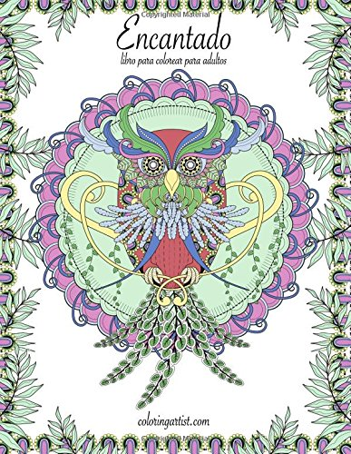 Encantado libro para colorear para adultos 1: Volume 1 por Nick Snels
