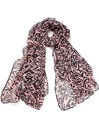 f4ce8e489fa1 DonDon ® tiger foulard d été pour femme-modèle léger et de grande taille
