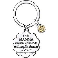 Mamma Portachiavi Regali di Mamma Regalo per la mamma per il compleanno Anniversario Giorno della Festa della Mamma da…