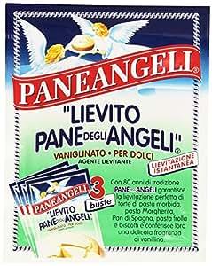 Paneangeli Lievito Pane degli Angeli, Vanigliato per Dolci, Lievitazione Istantanea - 48 g