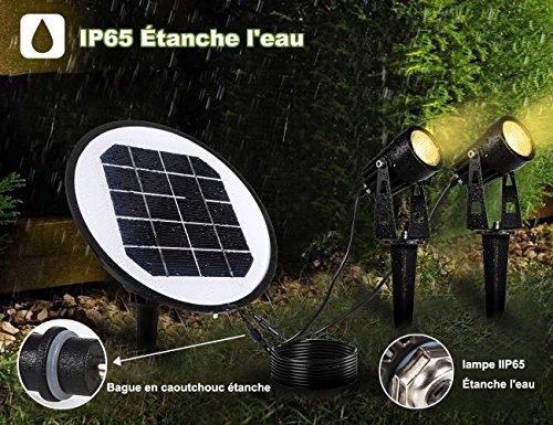 Greenclick lampada da giardino solare a led ip impermeabile