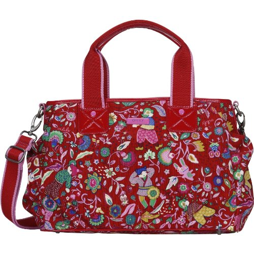 Oilily Poppies Handbag - Poppy