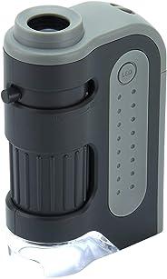 Extreem krachtige zakmicroscoop Carson 60-120x MicroBrite Plus met ledverlichting.