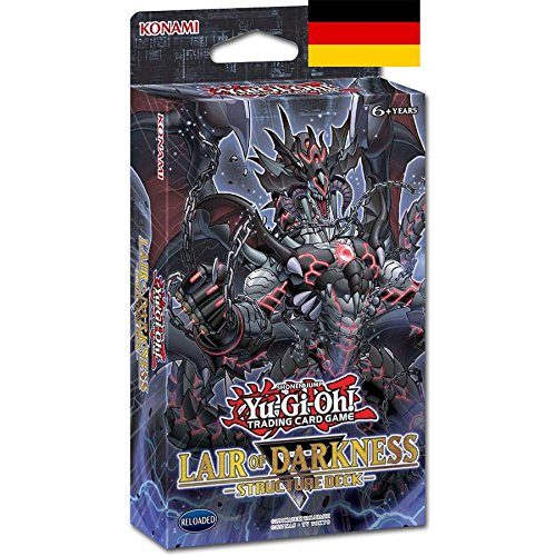 Yugioh - Lair of Darkness Structure Deck - 1 Deck - Deutsch (Yugioh Deck Drachen)