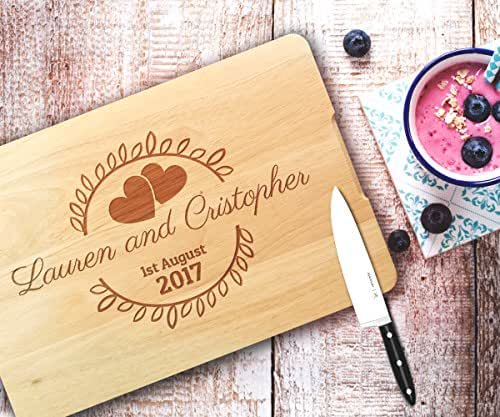 Personalized cutting board,Housewarming gift,wedding gift,gift for ...