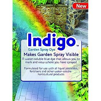 Indigo Garden Spray Dye - Spray Pattern Indicator