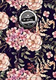 Carnet de Notes Petits Carreaux: VRAI A4 - 150+ pages Petits Carreaux avec marge - Calligraphie - Agenda - Journal - Fleurs, Jungle, Forets et Aquarelles ! - J060