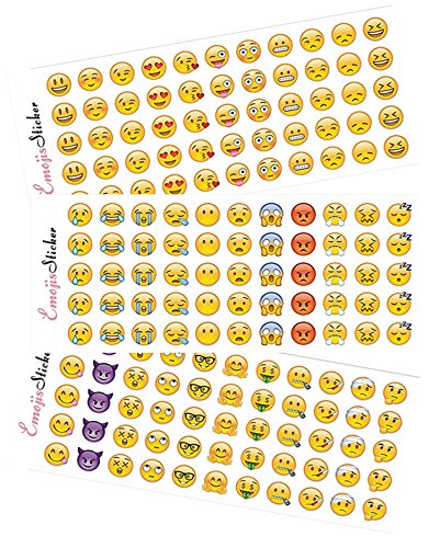 happy-emoji-stickers-12-sheets-with-same-faces-kids-stickers-from-iphone-facebook-twitter