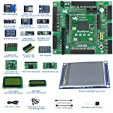 Designed for ALTERA Cyclone IV Series, Features the EP4CE10 Onboard, Open Source Electronic Hardware EP4CE10 FPGA Development Board Kit, Uses With Nios II Processor, With DVK600 Mother Board, etc.
