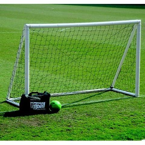 Igoal–8'x 5' hinchable entrenamiento fútbol neto portería de fútbol para interiores