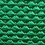 Fabulous Fabrics Steppstoff Samt - grün - Meterware ab