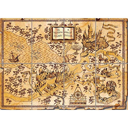 HARRY POTTER WIZARDING WORLD MAP GIANT POSTER PLAKAT DRUCK X3197 -