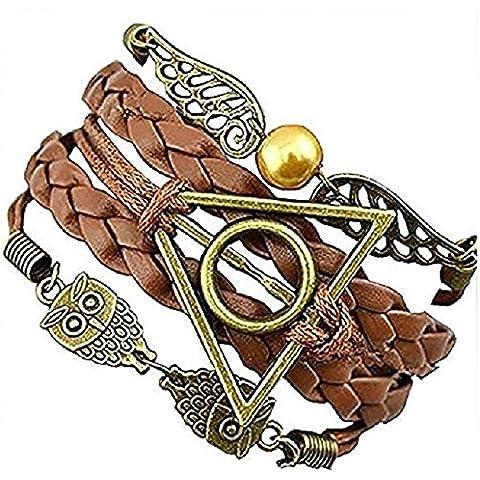 Braccialetti e Collane di Harry Potter - Boccino d' Oro - Death Hallow