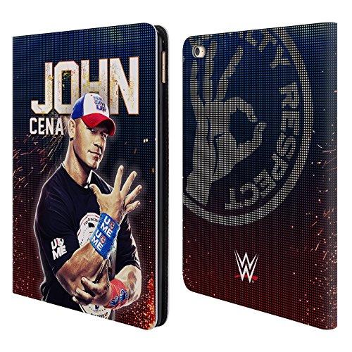 Offizielle WWE John Cena Superstars Brieftasche Handyhülle aus Leder für iPad Air 2 (2014) (Ipad Air 2 Case-hulk)