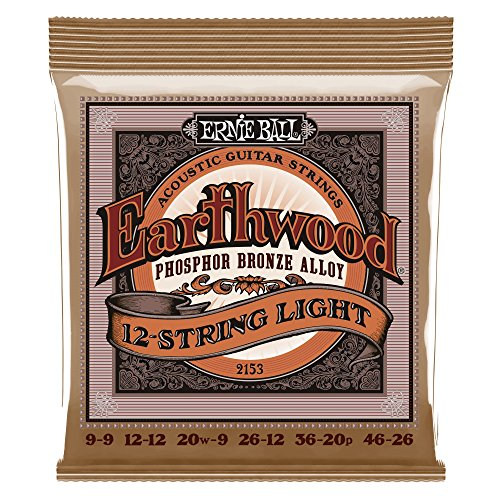 Ernie Ball Slinky Phosphor Bronze 12-String Light09-46 Lt