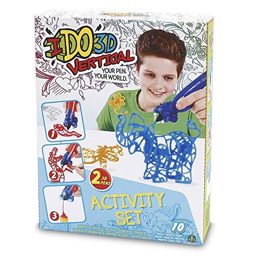 Giochi Preziosi - I Do 3D Gioco Vertical Activity, Set con 2 Penne 3D (Copertine Assortite)