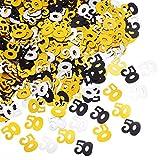 50 confetti 50 ° compleanno anniversario decorazione coriandoli, 50 g / 1,7 once