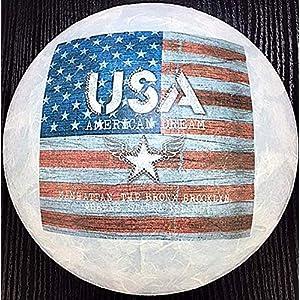 Deckenleuchte/Wandlampe * USA Amerika United States Flagge Sterne Streifen Manhattan Brooklyn * auch LED – mit/ohne Name