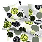 SoulBedroom Fresh 100% Coton Parure de lit (Housse de couette 140x200 cm et 1 Taie d'oreiller 50x75 cm)