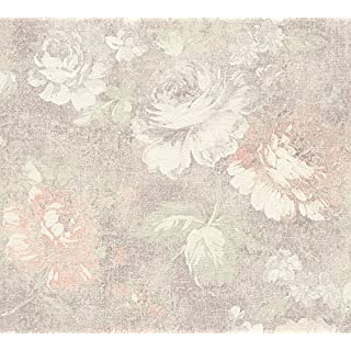 A.S. Création Vliestapete Secret Garden Tapete floral 10,05 m x 0,53 m braun creme rot Made in Germany 336042 33604-2