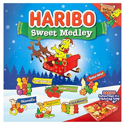 Calendario Avvento Haribo.Scatola Regalo Haribo Sweet Medley Da 540g