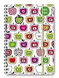 Collegetimer Apples 2015/2016 - Schülerkalender A5 - Weekly - Ringbindung/Ringbuch - 224 Seiten