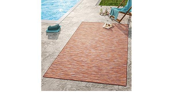 Und Außenbereich Meliert Terrakot Moderner Outdoor Teppich Wetterfest Für Innen