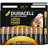 Duracell Plus Power Piles Alcalines type AA, Lot de 18