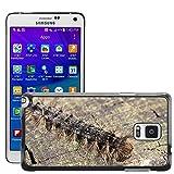 Just carcasa caliente estilo teléfono celular PC Funda rígida//m00140185Caterpillar Oriental Verde larvas//Samsung Galaxy Note 4IV